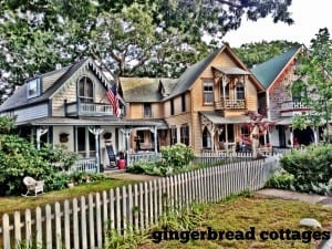 Gingerbread Cottages in Oak Bluffs, Martha's Vineyard