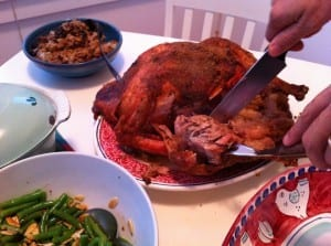 holiday turkey at Woods Hole Inn