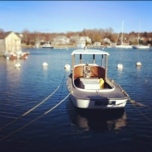 Woods Hole in winter