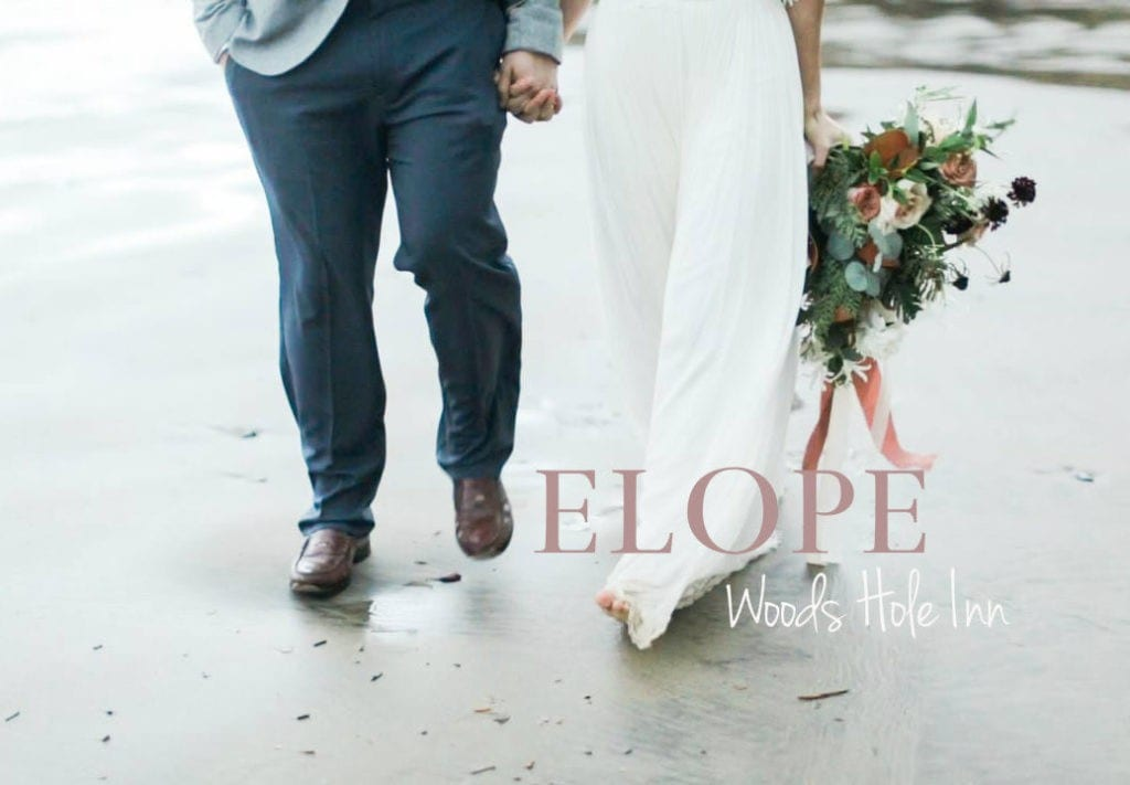 elope Cape Cod style at Woods Hole Inn